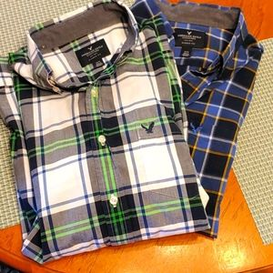 American Eagle Outfitters Button Shirts